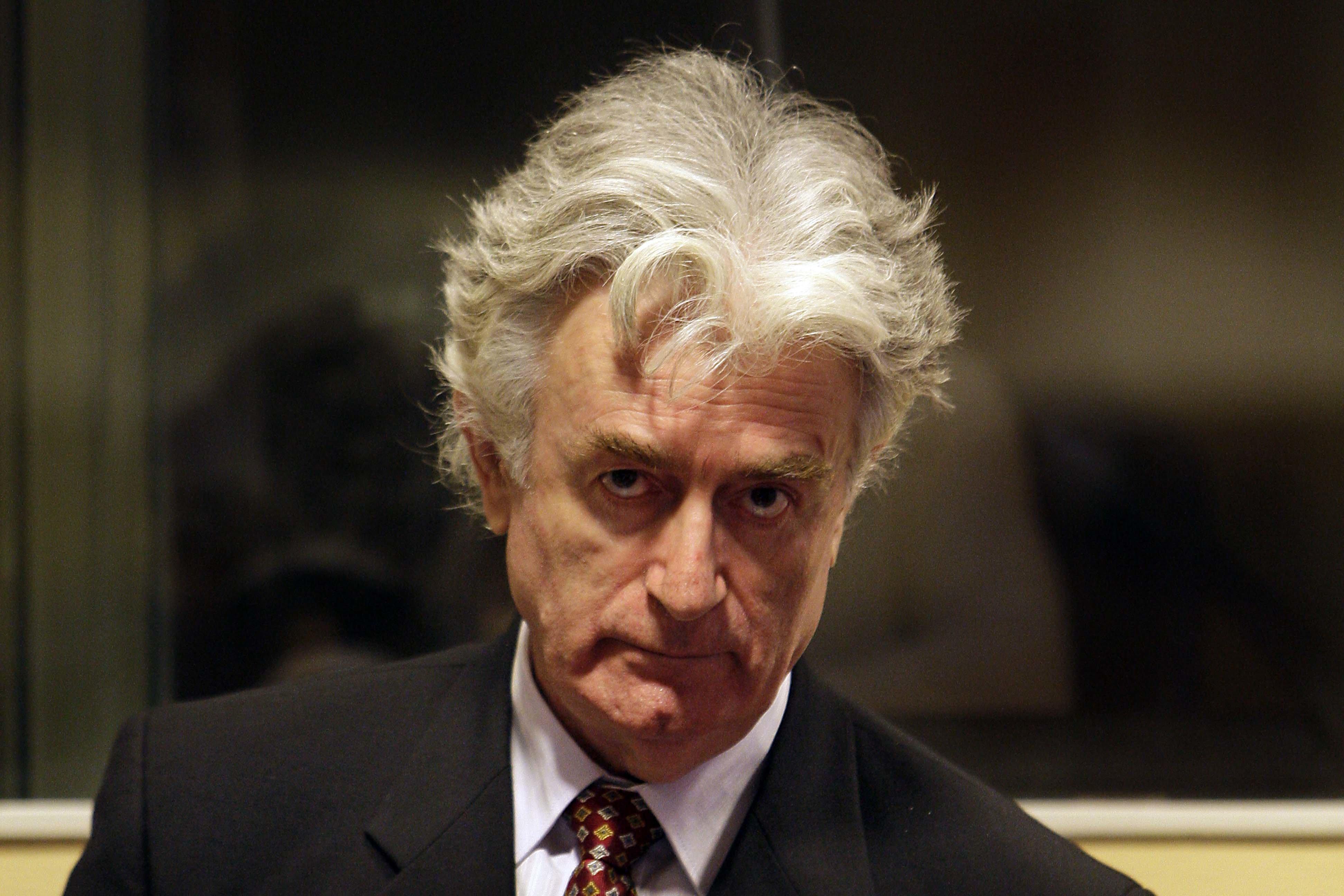 Sırp kasabı Karadzice 40 yıl hapis!
