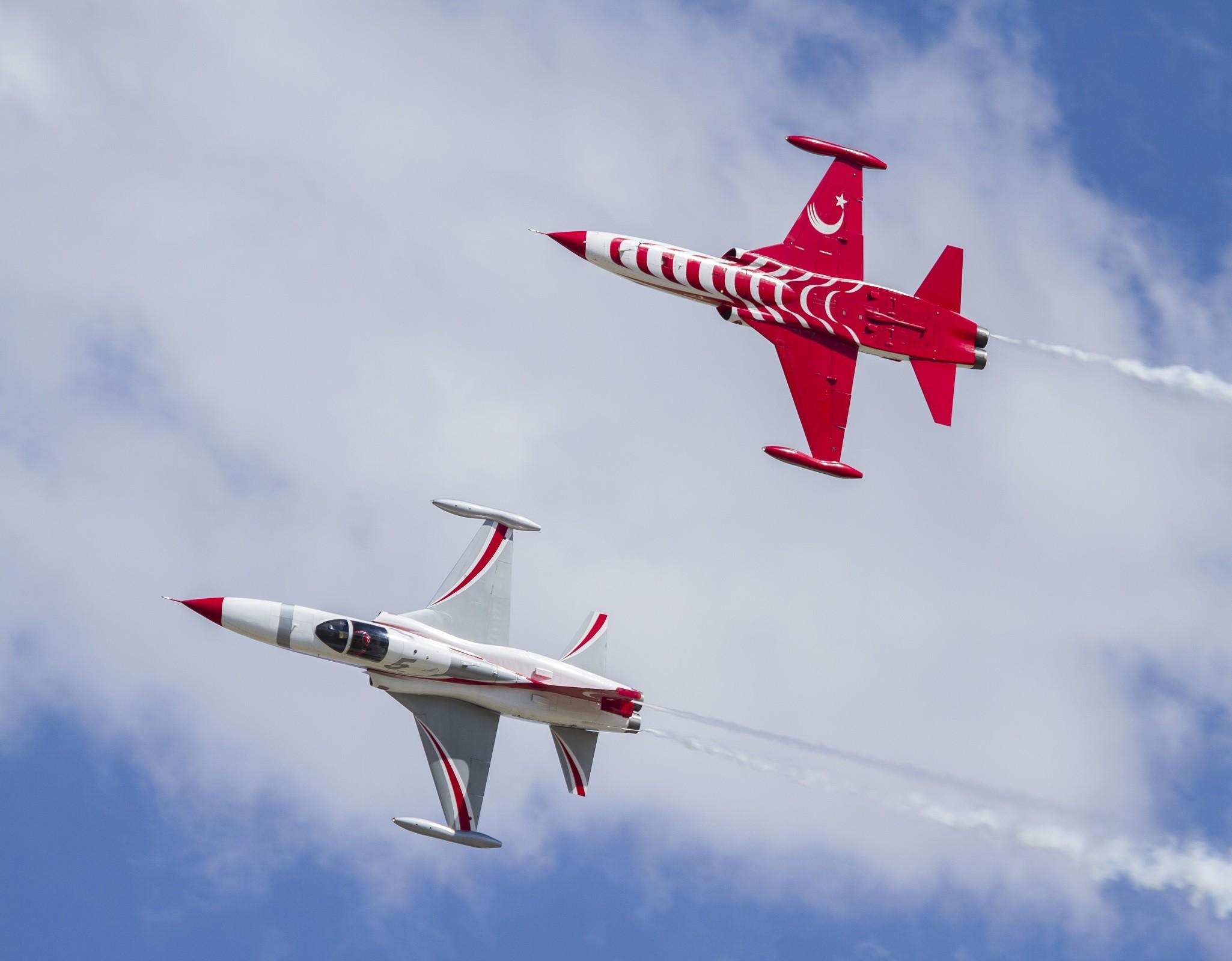 Türk Yıldızları Danimarka'da gösteri uçuşu yapacak