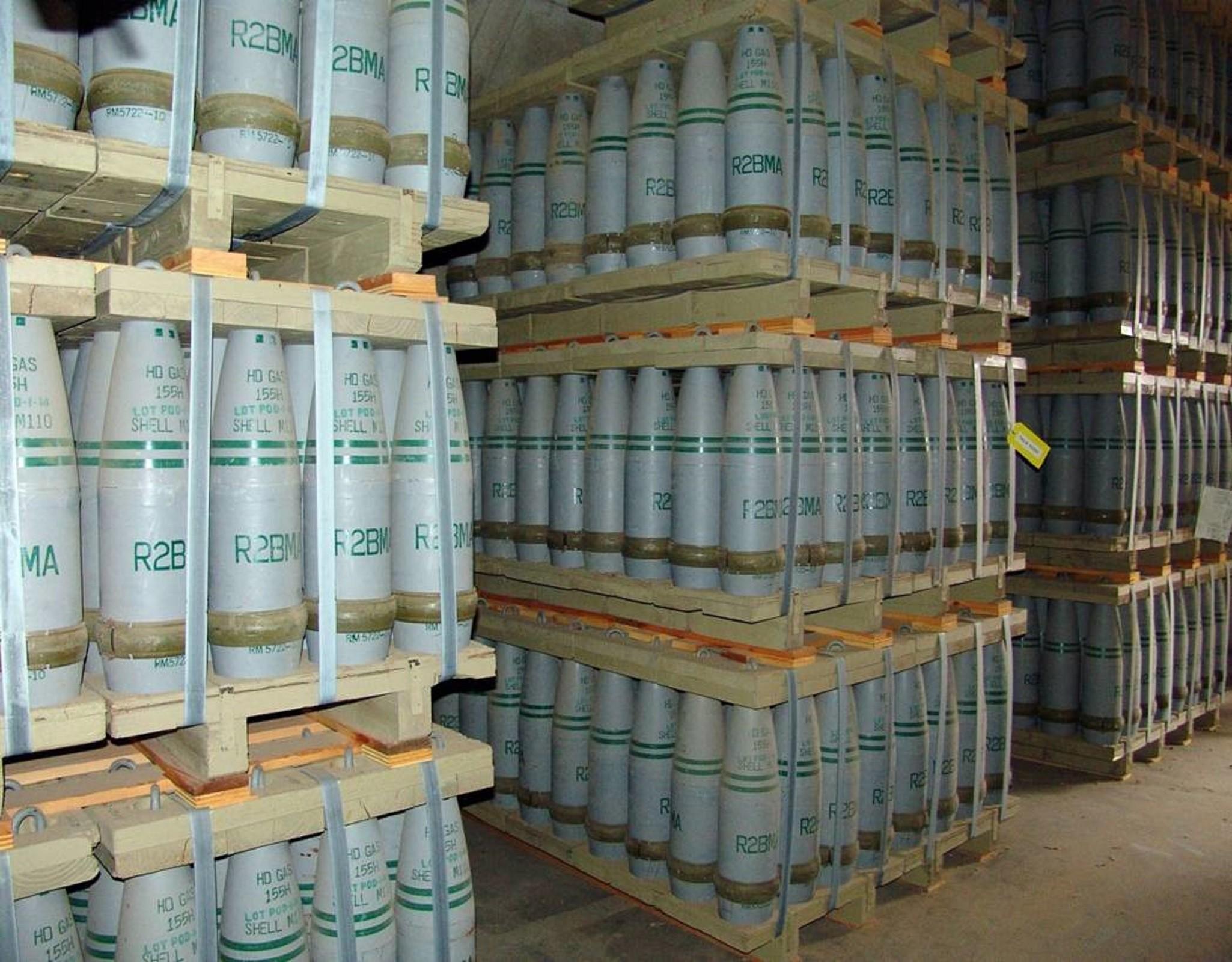Danimarka hükümeti Libya'daki kimyasal silah stokları taşımak için önerge sunacak