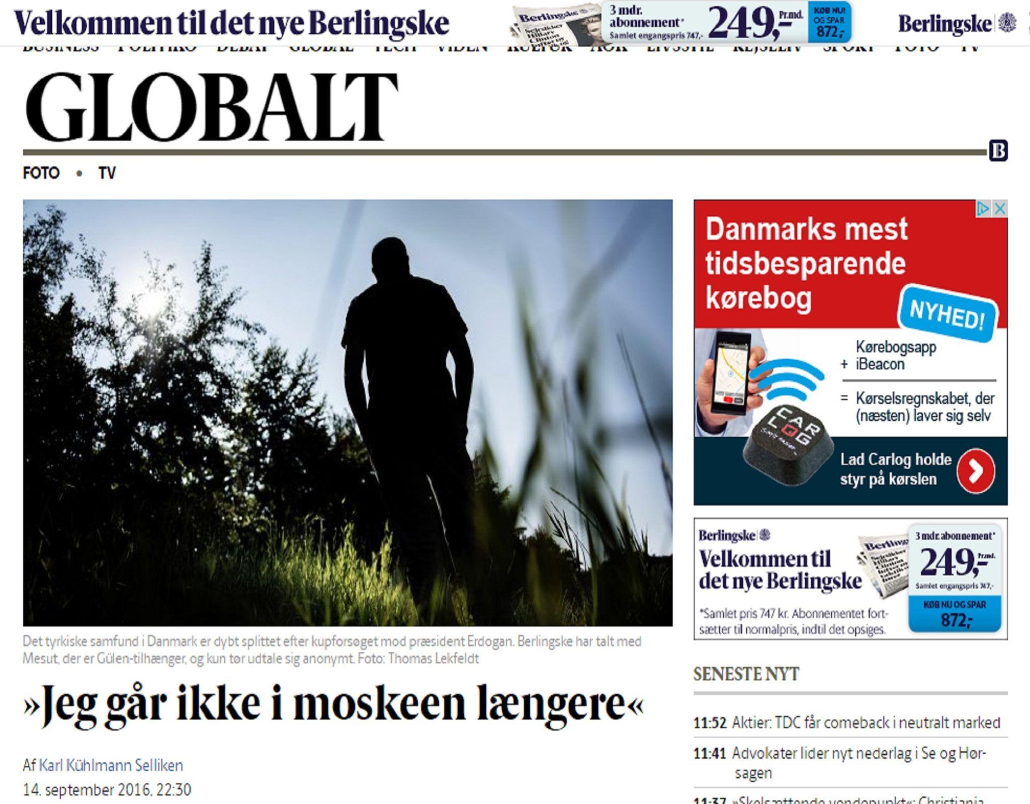Din düşmanı FETÖ Danimarka basınına camileri şikayet etti Erdoğan'a Hitler dedi