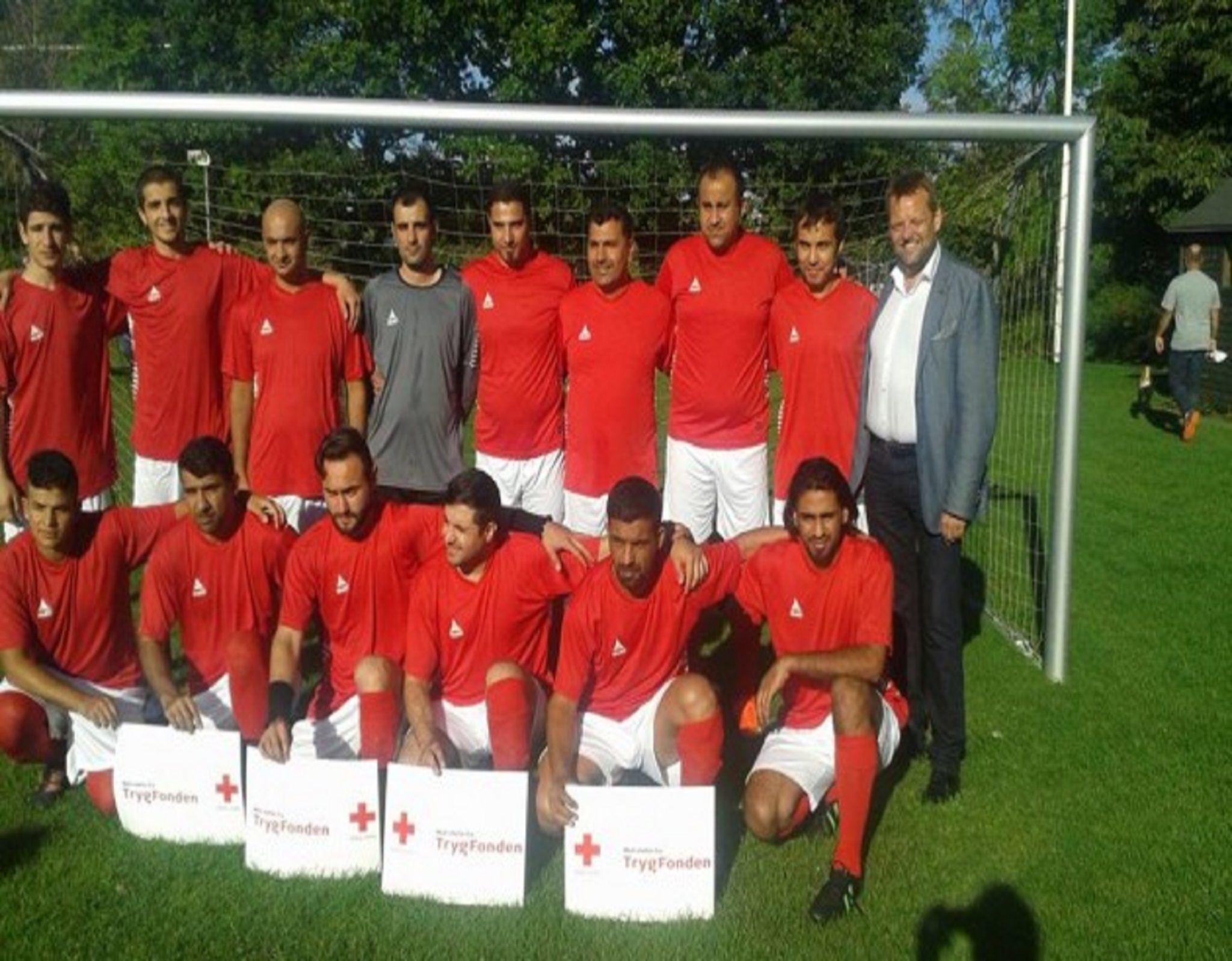 Danimarka'da siğınmacılar için futbol ligi kuruldu